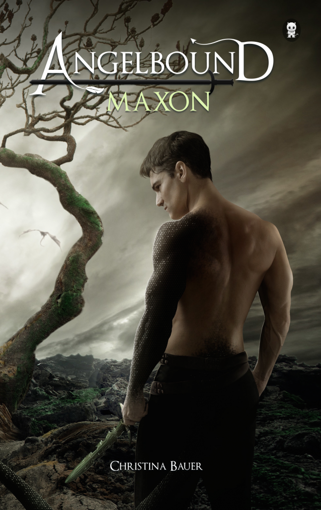 Angelbound Maxon Front Cover