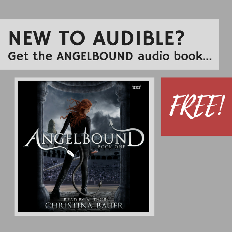 New to audible? Get the ANGELBOUND audio book FREE! - Monster House