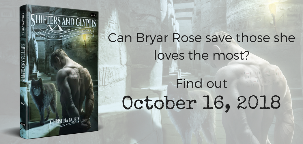 Shifters And Glyphs comes out October 16, 2018